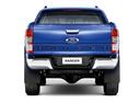 Фото авто Ford Ranger 4 поколение, ракурс: 180 цвет: синий