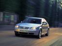 Фото авто Volkswagen Bora 1 поколение, ракурс: 45 цвет: белый