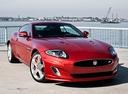 Фото авто Jaguar XK X150 [2-й рестайлинг], ракурс: 315 цвет: красный