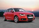 Фото авто Audi A1 8X, ракурс: 315 цвет: красный