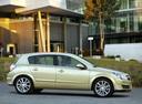 Фото авто Opel Astra H, ракурс: 270 цвет: бежевый