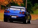 Фото авто Nissan Skyline R34, ракурс: 180