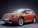Фото авто BMW X1 E84 [рестайлинг], ракурс: 45 цвет: оранжевый