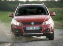 Фото авто Suzuki SX4 1 поколение [рестайлинг],  цвет: красный