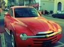 Фото авто Chevrolet SSR 1 поколение,  цвет: красный