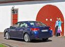 Фото авто Subaru Legacy 5 поколение, ракурс: 135 цвет: синий