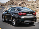 Фото авто BMW X6 F16, ракурс: 135 цвет: коричневый