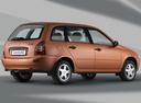 Фото авто ВАЗ (Lada) Kalina 1 поколение, ракурс: 225 цвет: оранжевый