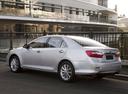 Фото авто Toyota Camry XV50, ракурс: 135 цвет: серебряный