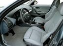 Фото авто BMW 1 серия E87, ракурс: сиденье