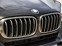 Фото авто BMW X6 F16, ракурс: передняя часть цвет: коричневый