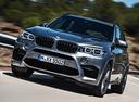 Фото авто BMW X5 M F85, ракурс: 45 цвет: серебряный