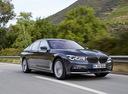 Фото авто BMW 7 серия G11/G12, ракурс: 315 цвет: синий