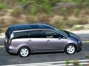 Фото авто Mitsubishi Grandis 1 поколение, ракурс: 270 цвет: фиолетовый