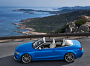 Фото авто Audi RS 5 8T [рестайлинг], ракурс: 90 цвет: голубой
