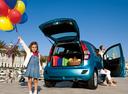 Фото авто Suzuki Splash 1 поколение [рестайлинг], ракурс: 225 цвет: голубой
