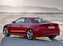 Фото авто Audi RS 5 8T [рестайлинг], ракурс: 135 цвет: красный