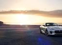 Фото авто Jaguar F-Type 1 поколение [рестайлинг], ракурс: 315 цвет: серебряный