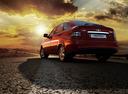 Фото авто ВАЗ (Lada) Priora 1 поколение [рестайлинг], ракурс: 135 цвет: красный