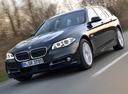 Фото авто BMW 5 серия F07/F10/F11 [рестайлинг], ракурс: 45 цвет: черный