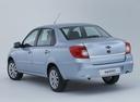 Фото авто Datsun on-DO 1 поколение, ракурс: 135 - рендер цвет: голубой