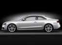 Фото авто Audi S5 8T [рестайлинг], ракурс: 90 цвет: серебряный