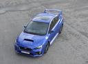 Фото авто Subaru Impreza 4 поколение [рестайлинг], ракурс: сверху цвет: синий