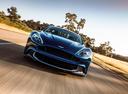 Фото авто Aston Martin Vanquish 2 поколение,  цвет: голубой