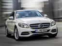 Фото авто Mercedes-Benz C-Класс W205/S205/C205,  цвет: белый