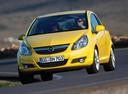 Фото авто Opel Corsa D,  цвет: желтый