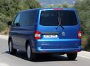 Фото авто Volkswagen Caravelle T5 [рестайлинг], ракурс: 135 цвет: синий