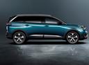 Фото авто Peugeot 5008 2 поколение, ракурс: 270 цвет: зеленый