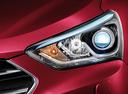 Фото авто Hyundai Santa Fe DM [рестайлинг], ракурс: передние фары