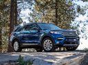 Фото авто Ford Explorer 6 поколение, ракурс: 315 цвет: синий