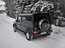 Фото авто Mercedes-Benz G-Класс W463 [рестайлинг], ракурс: 180 цвет: черный