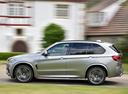 Фото авто BMW X5 M F85, ракурс: 90 цвет: серый