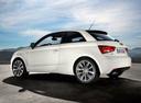 Фото авто Audi A1 8X, ракурс: 90 цвет: белый