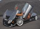 Фото авто Spyker C8 1 поколение, ракурс: 45 цвет: серый