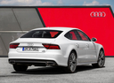 Фото авто Audi A7 4G [рестайлинг], ракурс: 225 цвет: белый