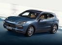 Фото авто Porsche Cayenne PO536, ракурс: 45 цвет: голубой