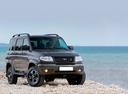 Фото авто УАЗ Patriot 1 поколение [рестайлинг], ракурс: 315 цвет: серый