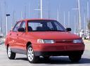 Фото авто ВАЗ (Lada) 2110 1 поколение, ракурс: 315 цвет: красный