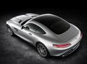 Фото авто Mercedes-Benz AMG GT C190, ракурс: 135 цвет: серый
