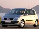 Фото авто Renault Scenic 2 поколение, ракурс: 45 цвет: серебряный