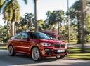 Фото авто BMW X4 G02, ракурс: 315 цвет: красный