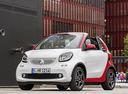 Фото авто Smart Fortwo 3 поколение, ракурс: 45 цвет: белый