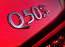 Фото авто Infiniti Q50 1 поколение [рестайлинг], ракурс: шильдик цвет: красный
