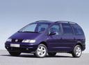 Фото авто Volkswagen Sharan 1 поколение, ракурс: 45