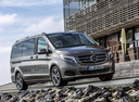 Фото авто Mercedes-Benz V-Класс W447, ракурс: 315 цвет: серый