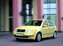 Фото авто Skoda Fabia 6Y, ракурс: 45 цвет: желтый